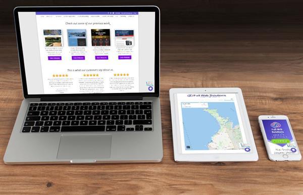 Websites designed for all screen sizes