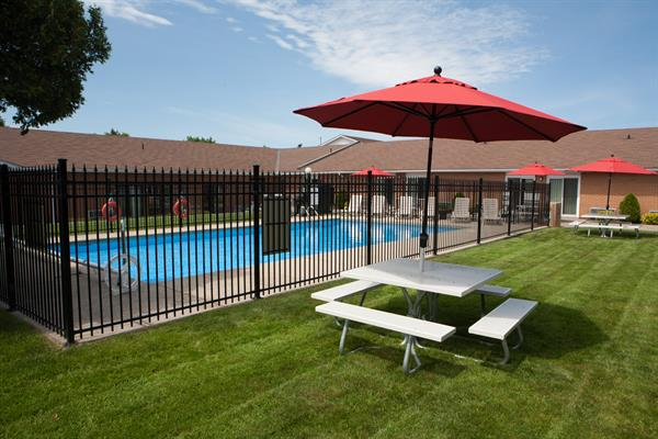 Outdoor Pool and Courtyard