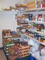 The Food Pantry, managed by The Senior Hub's Senior Solutions program is but one of many services available to elders in our community.