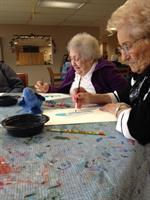 The Adult Day program offers families a safe, compassionate place where aging loved ones can spend their days.