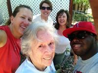 Volunteers help local Seniors keep up their yards during yearly clean up events
