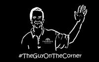 The guy on the corner