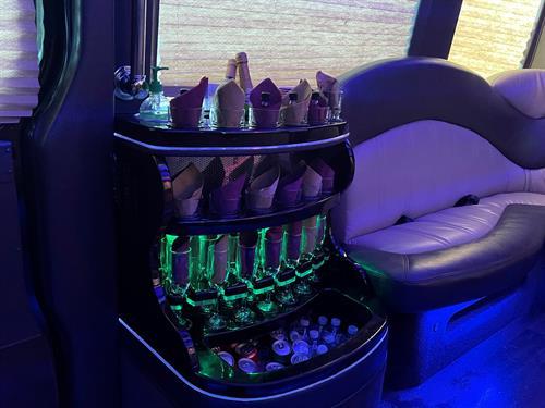 Sprinter Party Bus Bar