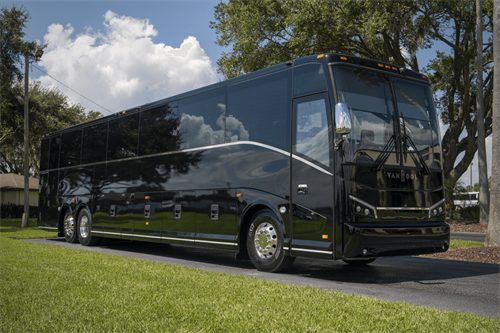 56 Passenger Motorcoach with RESTROOM