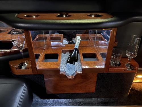 Town Car Limo Inside