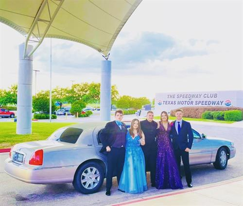 Prom at Texas Motor Speedway Fort Worth