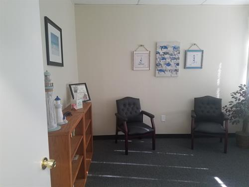 Talk therapy/ Parent meeting room