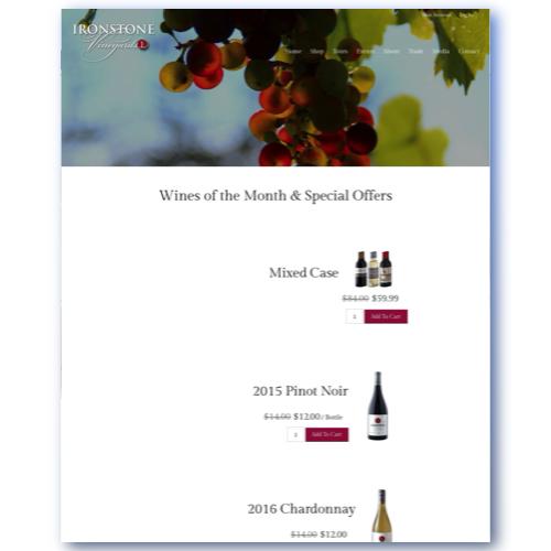 Ironstone Vineyards | Murphys, CA