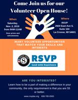 Coulee Region RSVP Volunteer Recruitment Open House