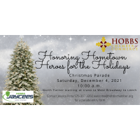 Hobbs Chamber of Commerce and Hobbs Jaycees Christmas Parade