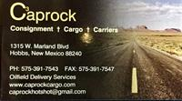 Caprock Consignment Company