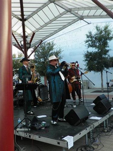 Zoot Suite Revue Downtown Sounds concert