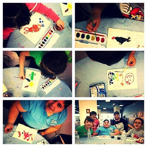 Wednesday afterschool art class