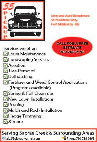The services we offer!