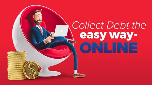 Collect Debt the Easy Way. Online