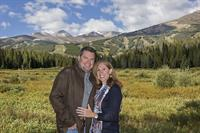 Gorgeous locations for summer portraits in Breckenridge.