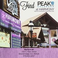 Find PEAK 10 SKIN locally at Harmony Health Massage & Spa on Main Street!