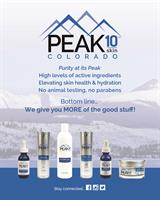 Learn more about PEAK 10 SKIN!  PEAK10SKIN.com