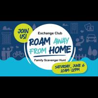 Roam Away From Home Family Scavenger Hunt