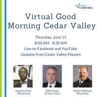 Virtual June Good Morning Cedar Valley