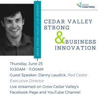 Cedar Valley Strong & Business Innovation Webinar