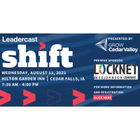 Leadercast 2021 - Shift!