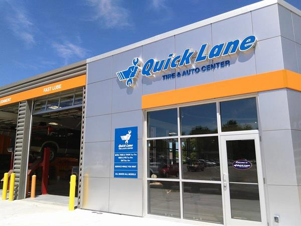 Quick Lane Tire & Auto Center located at Bill Colwell Ford