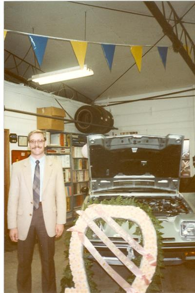 Grand opening of Bill Colwell Ford in 1984