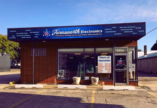 New Permanent home, Farnsworth Electronics, former Computer Reboot location