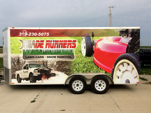 Trailer wraps & Decals: Custom and cost effective wraps to get your business noticed 24/7.