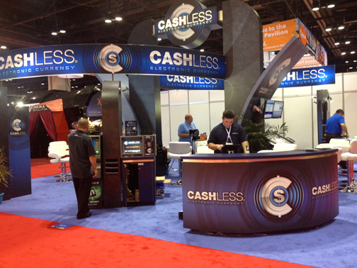 Trade show:  Hardware displays, design and printing.
