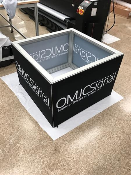SEG Tradeshow Box Sign