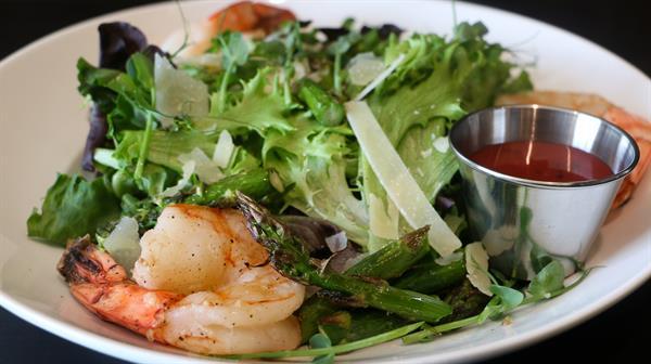 Roasted Shrimp and Asparagus Salad