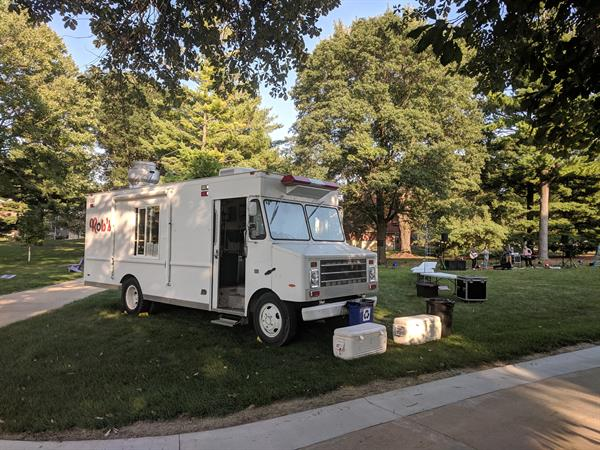 Summer of 2019 setup, on UNI campus.