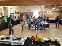 Buffalo Wild Wings at the Seaside Boys and Girls Club STEM presentation donating wings to the kids!