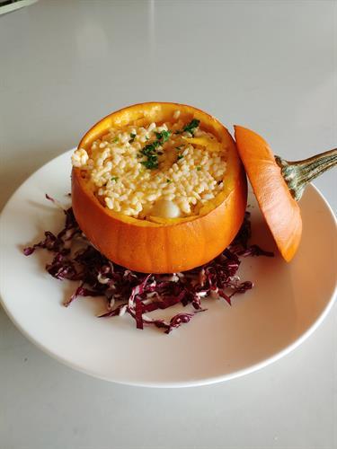 November Pumpkin Risotto