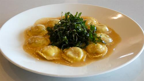 Roasted Butternut Squash Ravioli