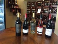 Assortment of some of our wines