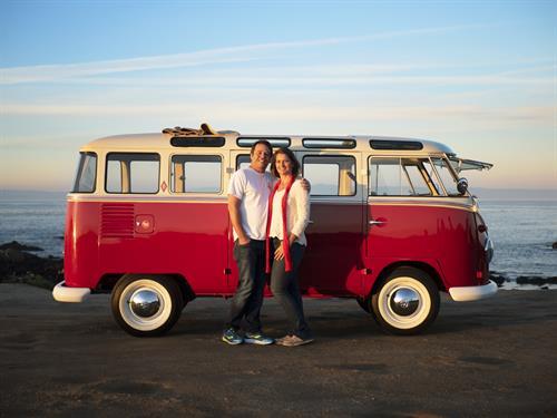 1961 VW 23-window Samba bus