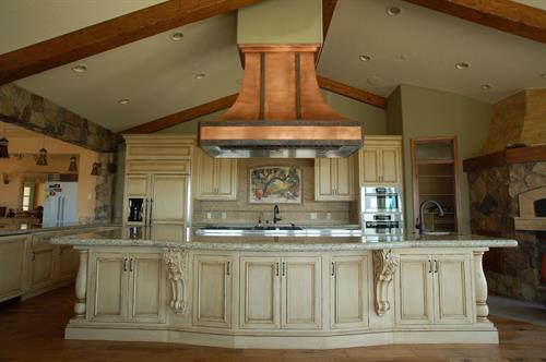 snap shot of a portion of Custom Design and Build Kitchen by DC