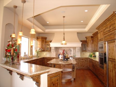 4 of (4) Belmont Heights Custom Home High end spec. kitchen interior pic only design/build