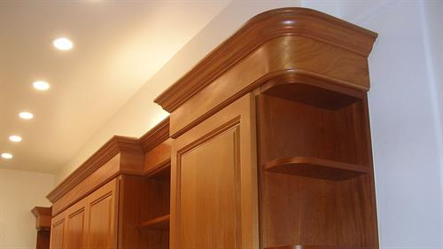 Customer cabinets to your taste and style.
