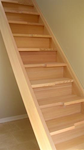 Custom modern stairs,