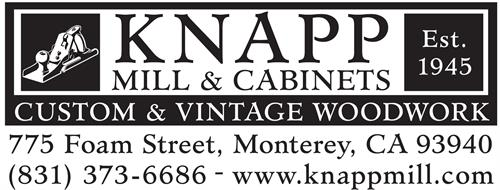 Welcome to Knapp Mill and Cabinets. New logo, same great folks and workmnaship.