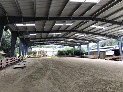 80'x200' Horse Arena - Carmel Valley
