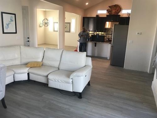 Happy Customer's Floor!