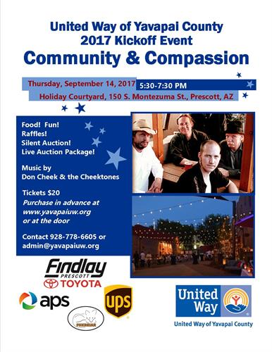 United Way, Prescott, Yavapia County, The Cody Anne Team, Cody Anne Yarnes