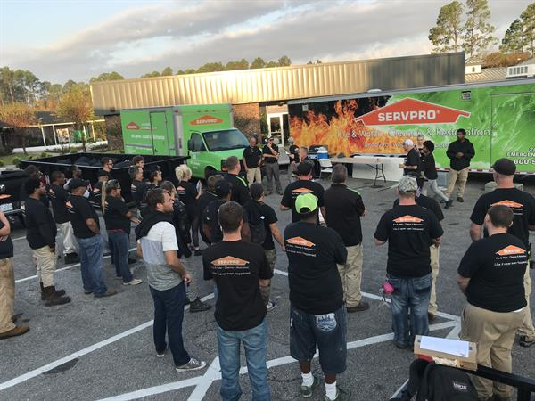 SERVPRO of Alexander & Caldwell Counties responded to the aftermath of Hurricane Florence in Wilmington.