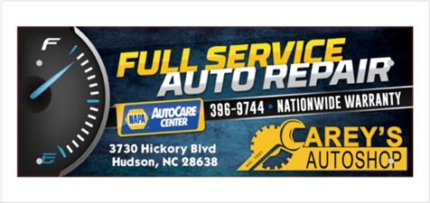 Carey's Auto Shop, Inc.