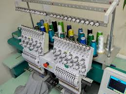 2 items can be embroidered on this machine
